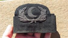 WW2 USN US Navy Cook Steward Bullion Cap Hat Badge Insignia w/ Band