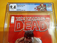 THE WALKING DEAD #46 - CGC 9.4 - WHITE PAGES - DEATH OF TYREESE ! - KEY ISSUE