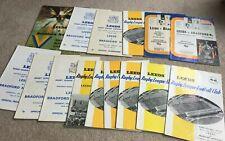 More details for 15 1966 to 1981 leeds v bradford northern rugby league programmes
