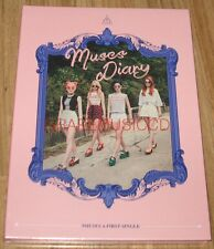 NINE MUSES A 9MUSES A 1ST SINGLE MUSES DIARY CD + PHOTOCARD + POSTER IN TUBE