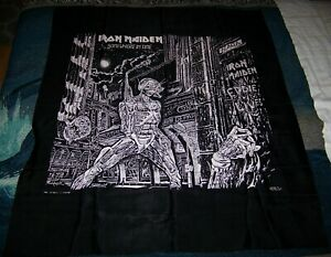 NEW Vintage 1986 Nikry IRON MAIDEN Tapestry Poster Flag Banner SOMEWHERE IN TIME