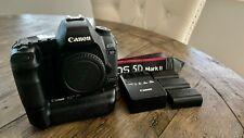Canon EOS 5D Mark II 21.1MP Digital SLR Camera plus grip and 3 batteries