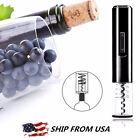 New Electric Automatic Wine Bottle Opener Corkscrew Cork Cordless W/ Foil Cutter