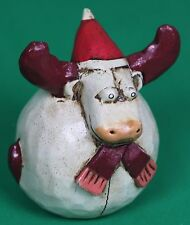 Christmas Round Moose Decoration Ornament