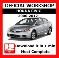 >> OFFICIAL WORKSHOP Manual Service Repair Honda Civic VIII 2006 - 2012