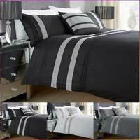 Luxury Diamond Lace Duvet Cover With Pillow Cases King Size Double Single Super