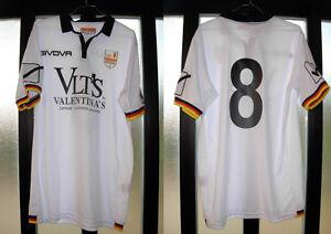 maglia shirt calcio tim cup Giorgione Musacci 2016-17 messina givova nr 8 size M