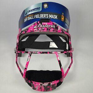 Champro Youth Softball Mask The Grill Pink