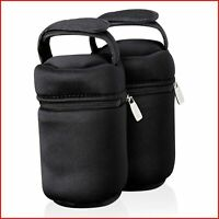 Tommee Tippee Insulated Bottle Bags Twin pack Excellent Thermal Properties