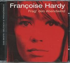 Rare French Pop CD- Francoise Hardy - Frag' Den Abenwind- Sung In German- Import