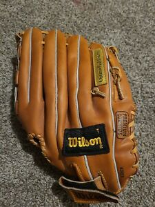 Wilson Optima Gold OG5 A9843 LHT Left Handed Thrower Softball Glove PRELOVED