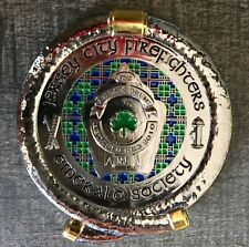 Jersey City Fire Dept. Emerald Society Pipes and Drums Challenge Coin