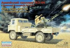 EASTERN EXPRESS 35132 Soviet Truck GAZ-66 w/Antiaircraft Gun Zu-23-2 in 1:35
