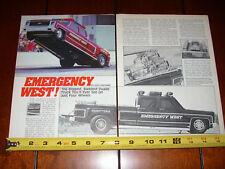 1978 CHEVROLET DUALLY PICKUP TWIN 510 C.I. RACE TRUCK - ORIGINAL 1987 ARTICLE