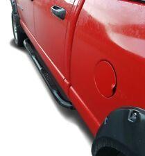 SCHWARZE Trittbretter Dodge Ram 1500 Quad Cab (02-08) Einstiegsrohre mit Tritt