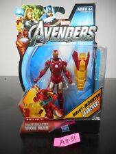 NEW! MARVEL AVENGERS SHATTERBLASTER IRON MAN ACTION FIGURE #18 2012 NIP!! A8-31