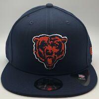 """New Era NFL Chicago Bears """"Chibear"""" 9Fifty Snapback OTC Navy Polyester OSFM"""
