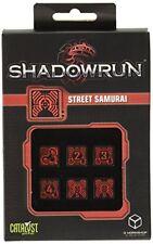 D��s de jeux Shadowrun Street Samurai par Q-workshop
