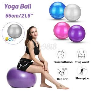 55cm Gym Ball Exercise Yoga Ball Pilates Abs Gym pregnancy