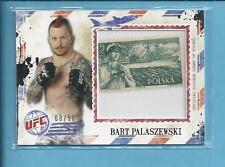 2012 Topps UFC Bloodline air mail stamp BART PALASZEWSKI #08/50