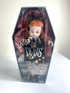 Mezco Living Dead Dolls Series 6 Jinx in box With Hellcat Toy Figure Horror