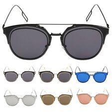 Unisex Fashion Retro Men/Womens Glasses Metal Resin Mirror Lens Sunglasses UV400
