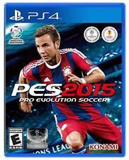 NEW Pro Evolution Soccer 2015 (PlayStation 4 PS4) NTSC-US/Canada ESRB-E FREE S&H