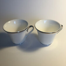New ListingLenox Dimension Ii Collection Solitaire White Cups - Set of 2