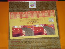 HONG KONG 2004 Stamp Expo Official Flip-flop S/S Pack