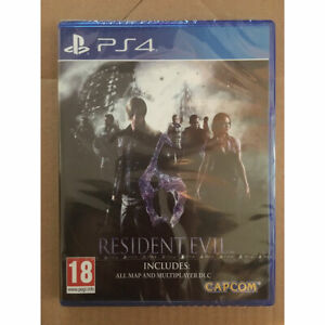 Resident Evil 6 Remastered (PS4) New and Sealed Inc All Map & Multiplayer DLC