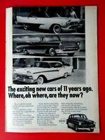 """1964 VOLVO P1800 Ferrari-Maserati-Facel Vega-Original Print Ad 8.5 x 11/"""""""