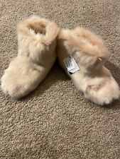 NWT Authentic UGG Amary Slippers Quartz Pink Sz 7 Ret $100 Furry Cute Warm