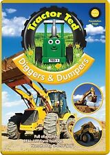 Tractor Ted Diggers & Dumpers DVD (New 2014 Release) Farming tractors