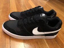 New Mens Nike SB Delta Force Vulc Black/White Sneakers Size 12M