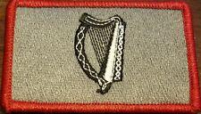 IRELAND Flag Patch W/ VELCRO® Brand Fastener Tactical Morale IRISH Version #13