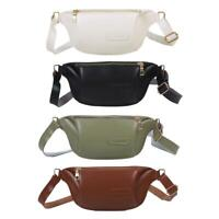 Fashion Fanny Waist Bag Women Money Purse Leather Shoulder Crossbody Pack