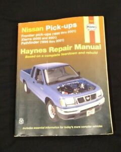 Service Repair Manuals For Nissan Frontier For Sale Ebay