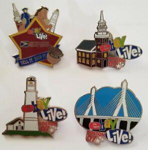 2007 EBay Live Boston Pins