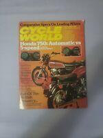Cycle World Magazine September 1976