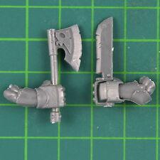 Schwarzorks Nahkampf Waffen D Warhammer Orks & Goblins Bitz 8490