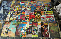 Indie Number 1 lot! 46 books from the 1980s! Kirby, Ditko, Wood, Suydam, Blair!