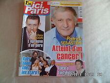 ICI PARIS N°3422 1 FEV 2011 PATRICK SEBASTIEN DANY BOON MARC LAVOINE    D65