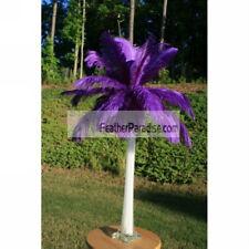 Purple Ostrich Feather Centerpieces 6 Sets ( GA, USA)