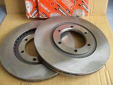 2 Stück FERODO Bremsscheiben DDF602 vorne für MAZDA B-Serie UN D=272 mm