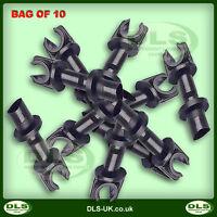 LAND ROVER SERIES 2/3, DEFENDER - Single Brake Pipe Clip Bag of 10 (CRC1250LX10)