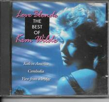 CD BEST OF 19 TITRES--KIM WILDE--LOVE BLONDE - THE BEST OF