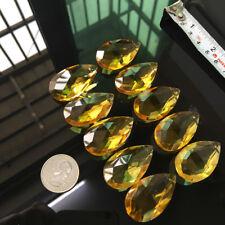 champagne Suncatcher Glass Prism CRYSTAL Chandelier Drop Hanging Pendant DIY