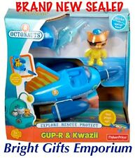 Octonauts Gup R Kwazii Flying Fish Gup B Bath Toy Boy Girl Birthday Gift NEW SYD