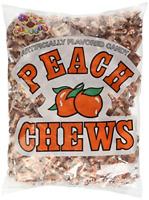 Alberts Peach Chews 240 Count Classic Candy Alberts Bulk Candies Taffy Peaches