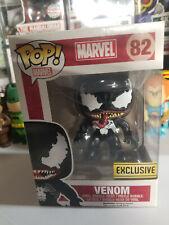 Funko Pop! Marvel Spiderman Venom Exclusive #82 *plastic window scratch